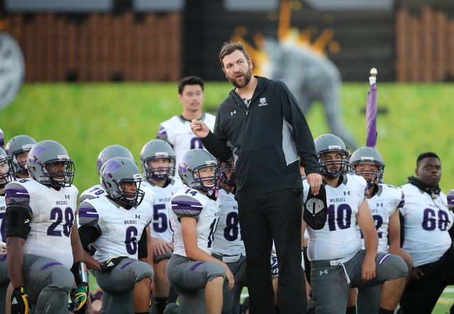 Green Bay West coach John Saharsky is trying to build the program in his first season.
