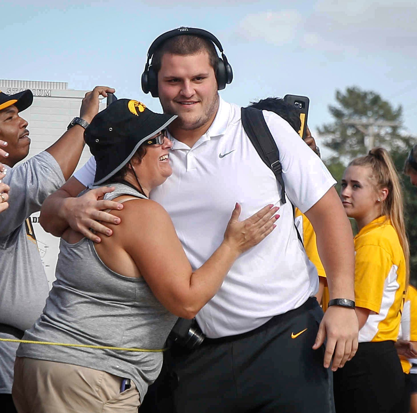 'A little surreal': One of Iowa's most respected leaders, Keegan Render on final leg of Hawkeye journey