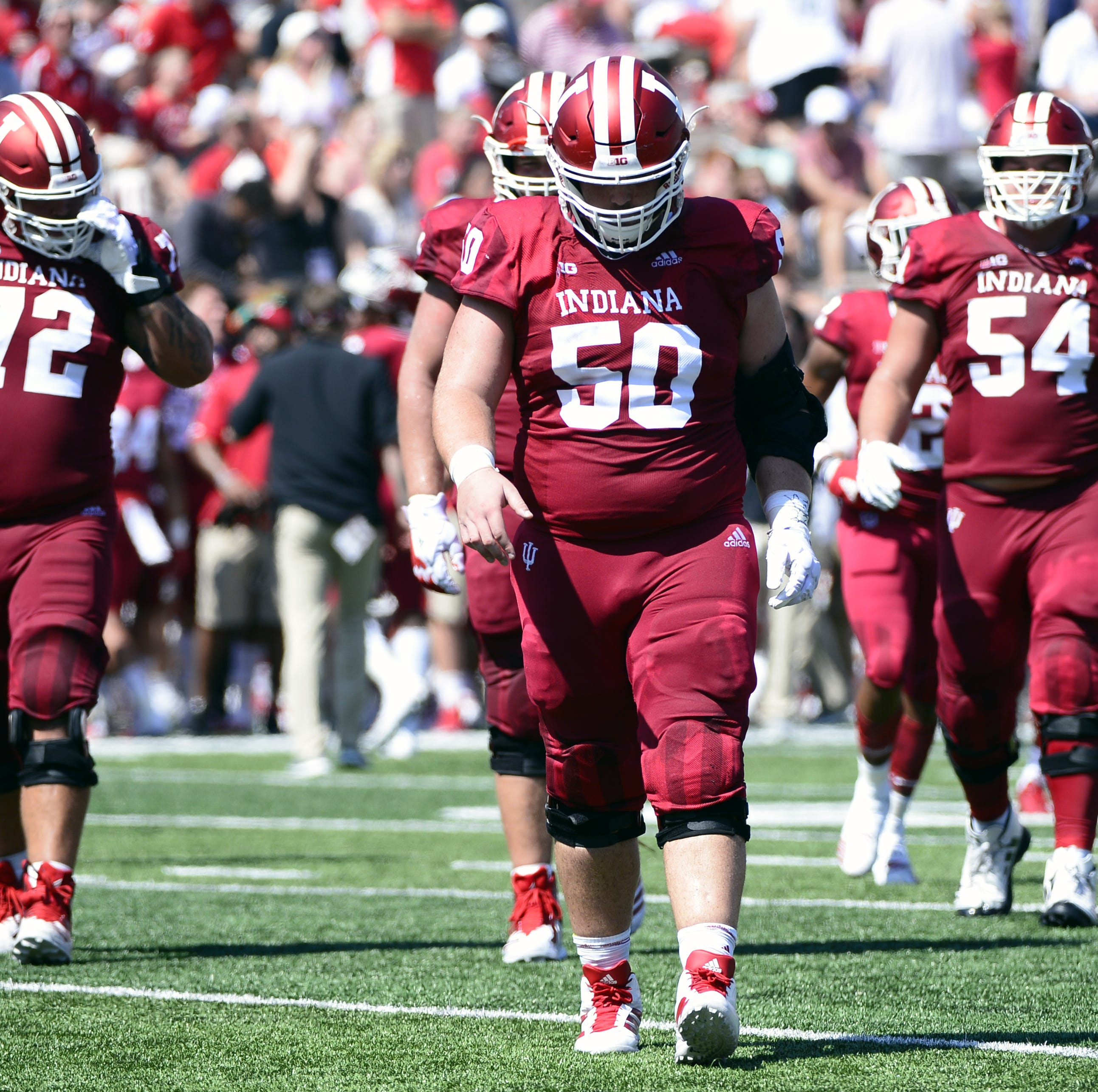 Michigan State will test legitimacy of IU football's offensive line's progress
