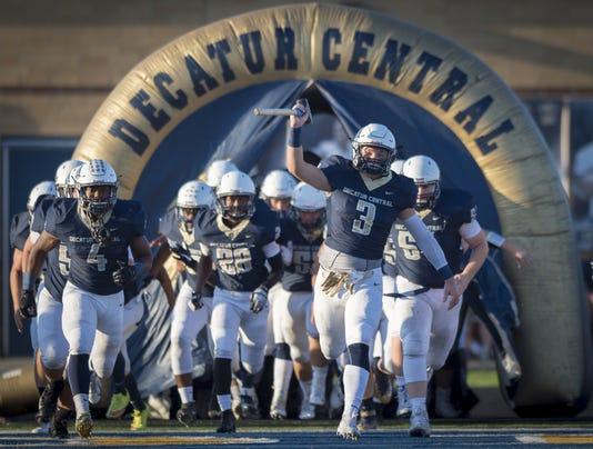 Varsity Football Mooresville Vs Decatur Central