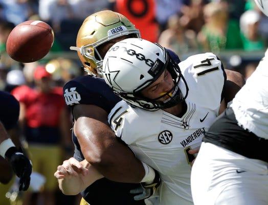 9a6b388bc 3 reasons why Notre Dame football beat Vanderbilt 22-17