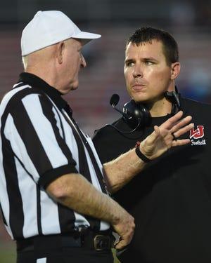 Lafayette Jeff coach Pat Shanley.