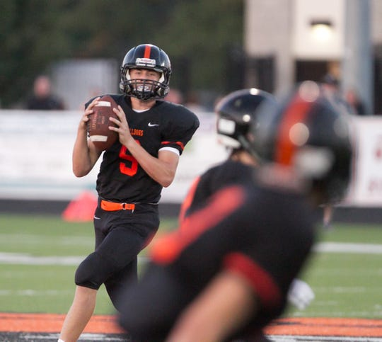 Senior Colby Newburg takes over as Brighton's starting quarterback in 2019, replacing three-year man Will Jontz.