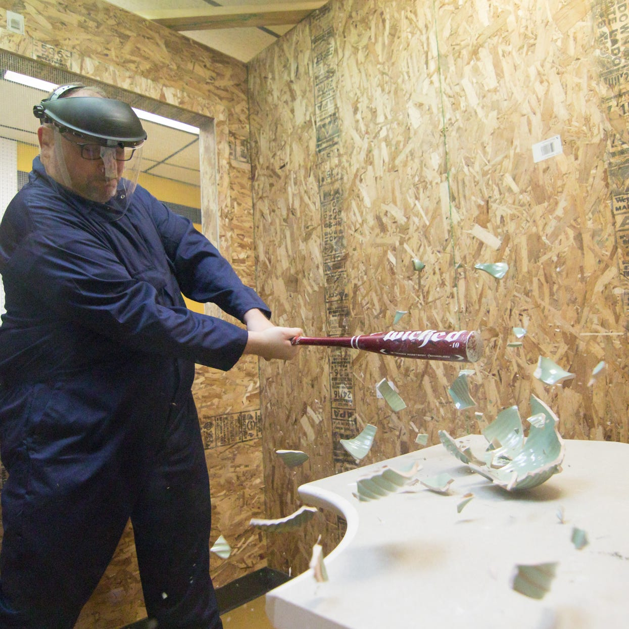 New 'rage room' in Brighton Township an outlet for anger and frustration