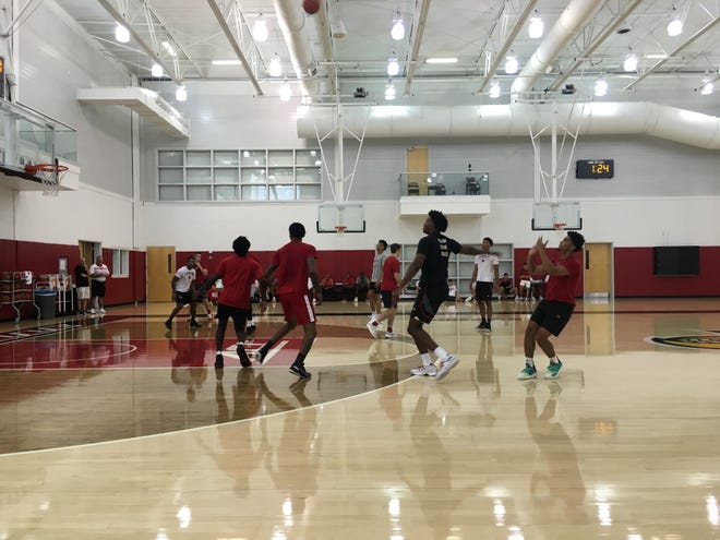 The Louisville men's basketball team invited the public to watch an open gym session Saturday, Sept. 15.