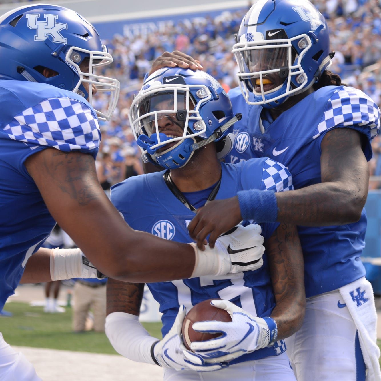 UK receiver averaging infinite yards per catch ready for a larger role