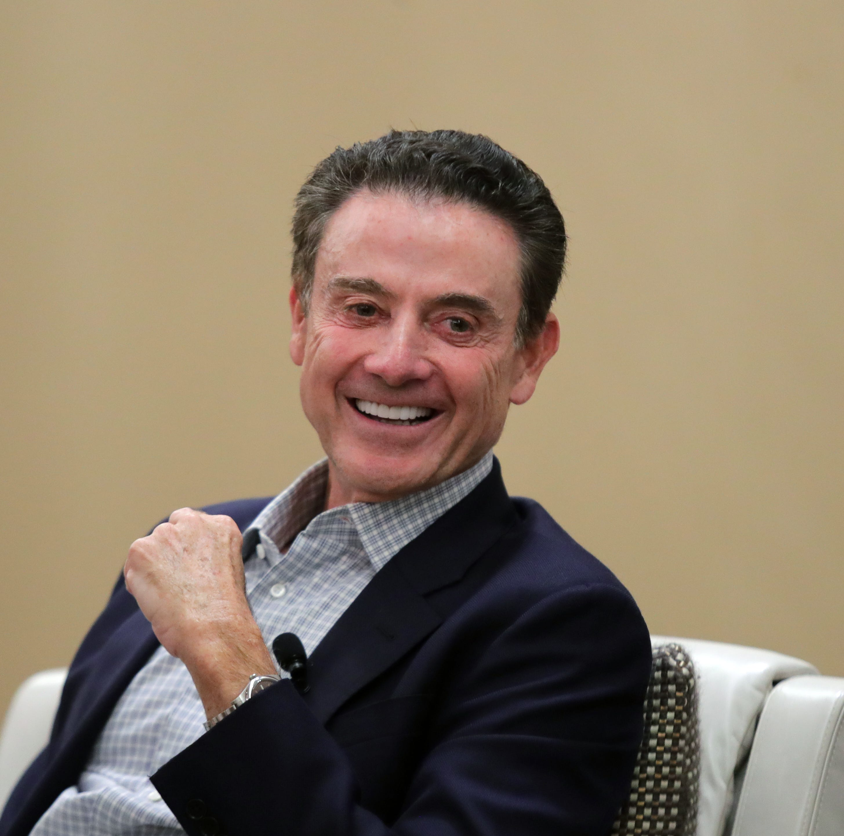 Former Louisville coach Rick Pitino is resigned his battle 'can't be won'