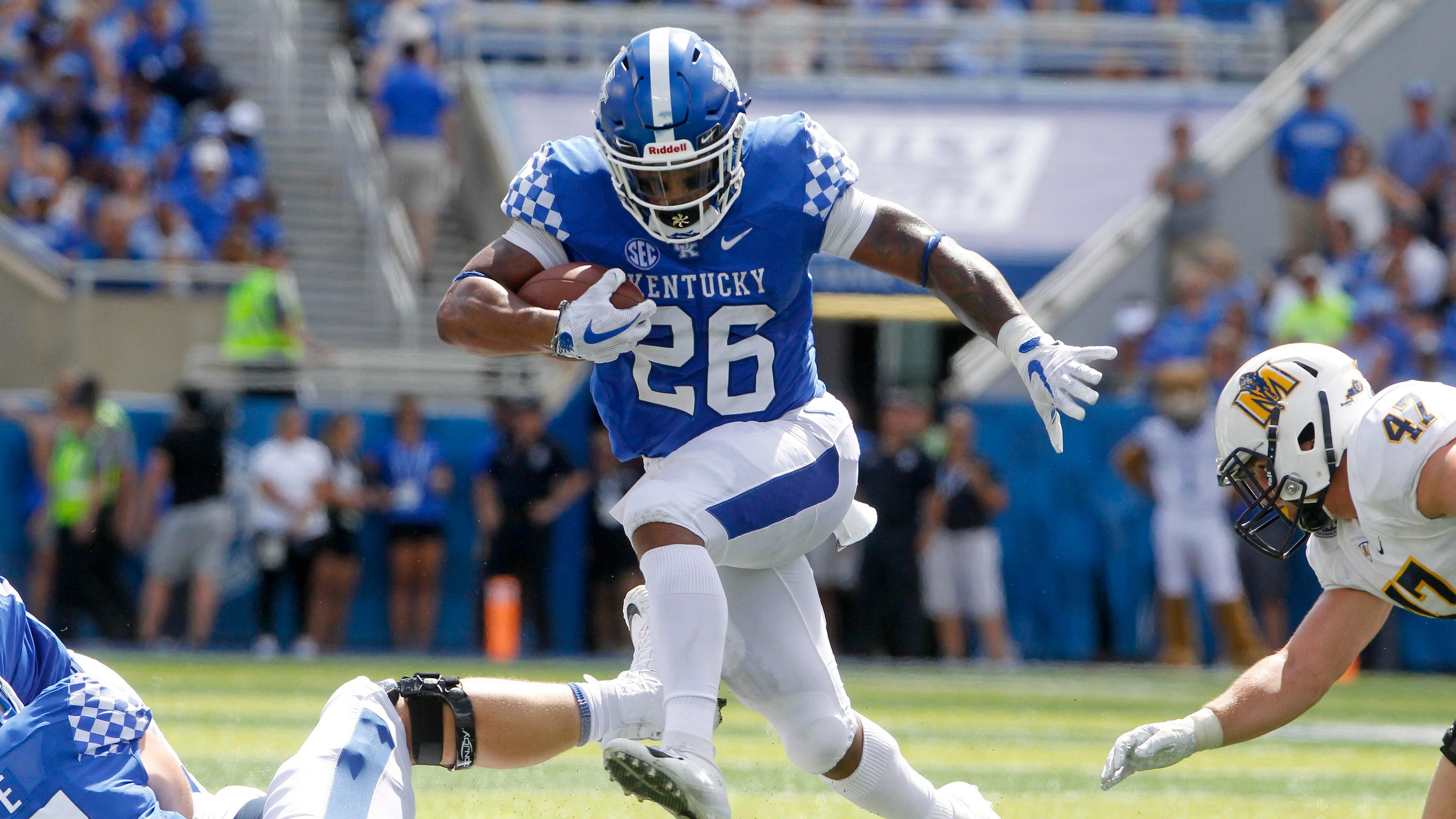 Kentucky football dropkicks Murray State ahead of a crucial homestand bee1c9168