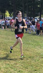 Mansfield Christian's Clay Reynolds won the Division II and III boys high school open race at the Galion Cross Country Festival on Saturday.