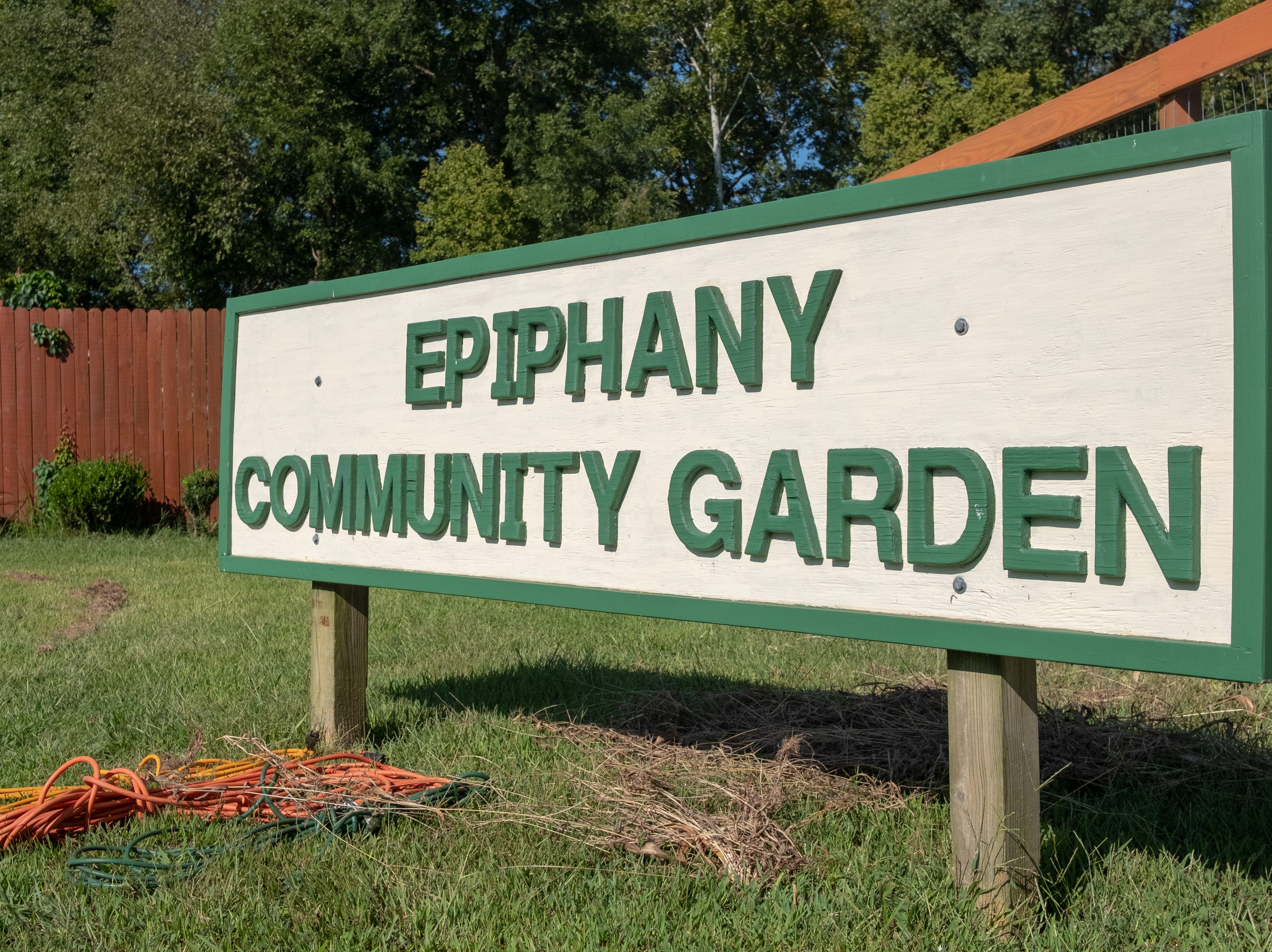 The Epiphany Community Garden is located in Collierville on Saturday, Sept. 15, 2018.. All food grown here is given away free to members of the community.