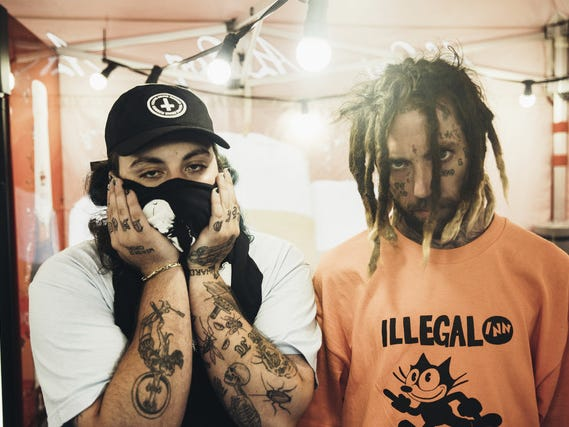 Rap duo $UICIDEBOY$ will perform in Milwaukee for the first time, at the Rave Oct. 30. Tickets are $30 to $45. The show is expected to sell out.