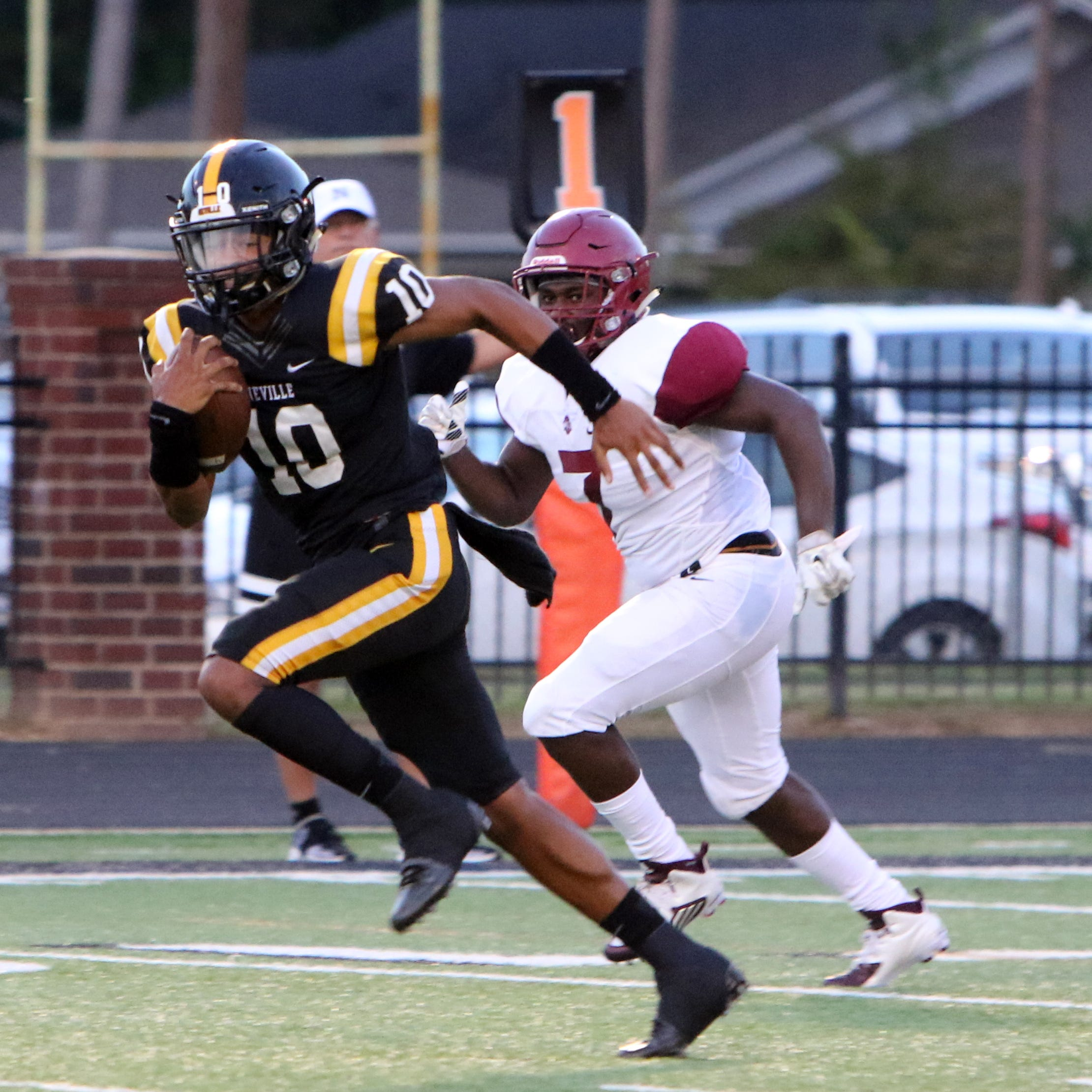 The Ouachita Lions visited Bill Ruple Stadium to take on the Neville Tigers in Monroe on Friday, September 14.
