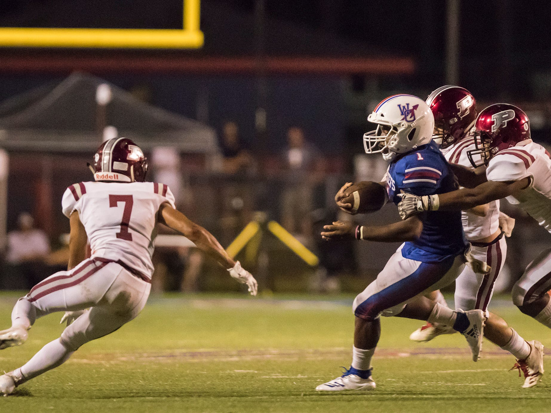 West Ouachita fell to Pineville 45-23 at West Ouachita High School in West Monroe, La. on Sept 14.