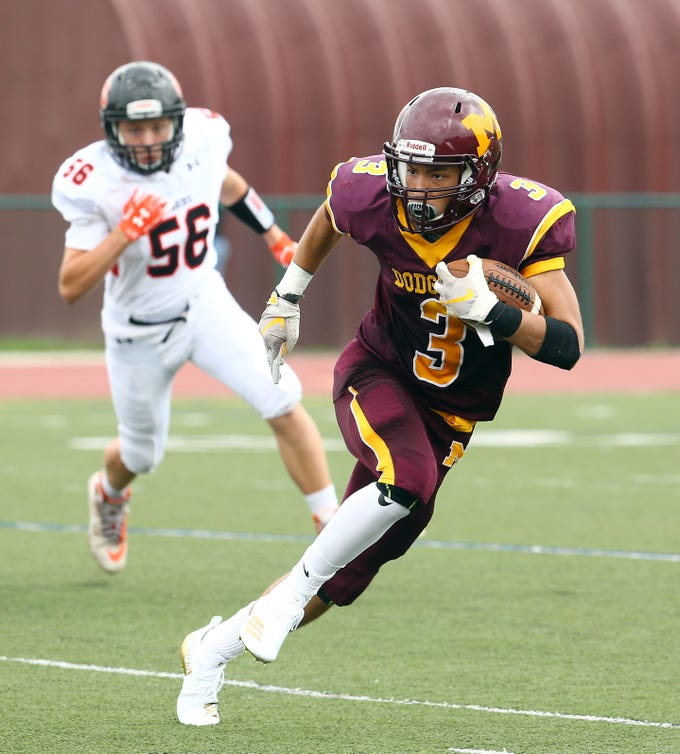 Madison Defeats Hackettstown 56 7 In American White Football