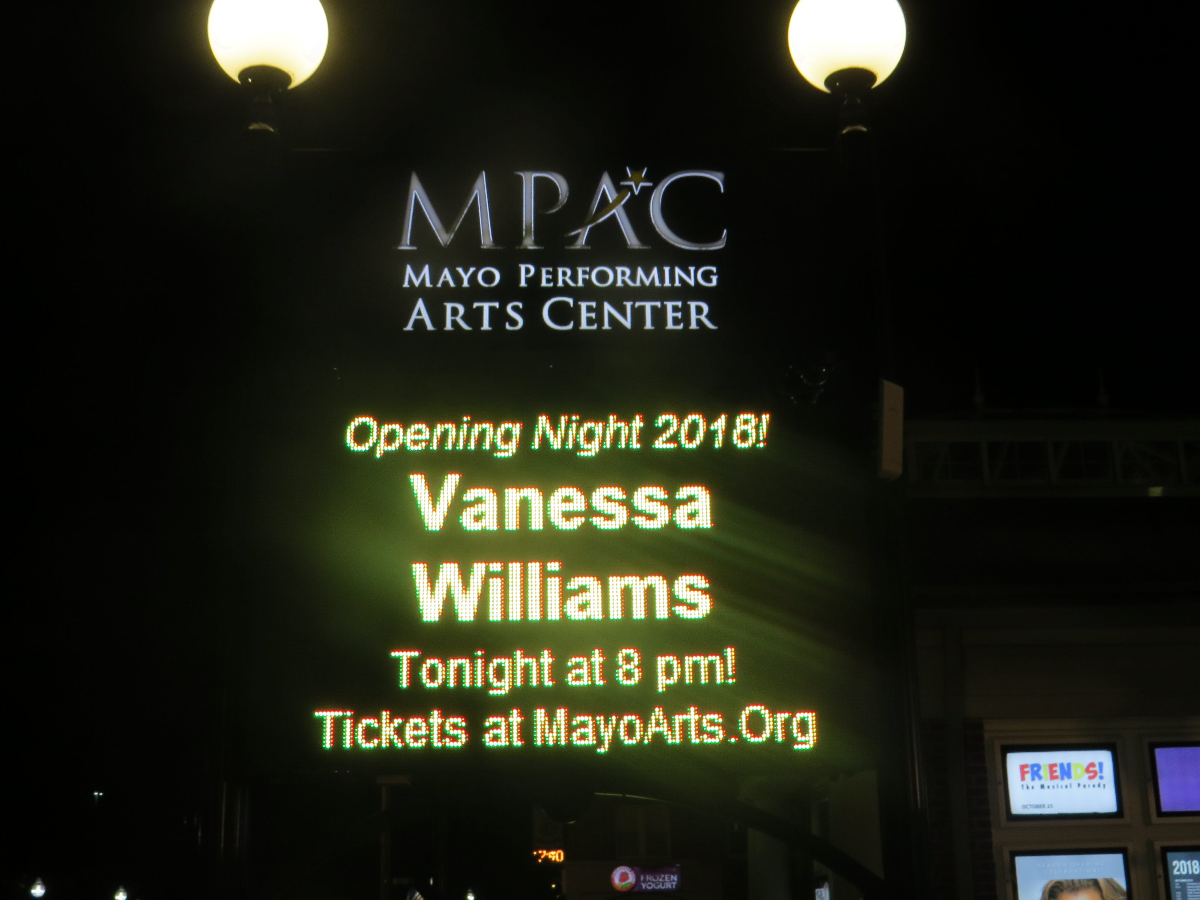 Opening night of the 2018-19 season at the Mayo Performing Arts Center in Morristown.