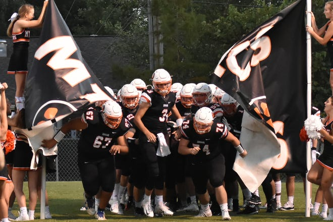 MTCS players prepare for a recent game.