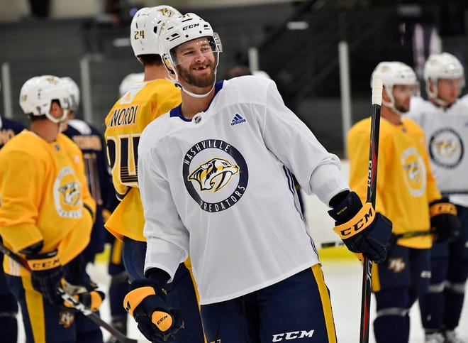 The Predators' Austin Watson is set to return to the ice after an 18-game suspension on a misdemeanor domestic assault charge.