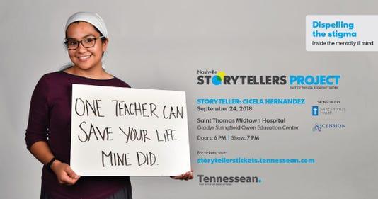 Storytellers Mental Health Promo Cicela Hernandez