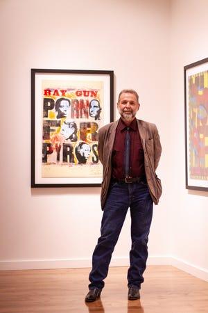Jim Sherraden, printmaster at Hatch Show Print.