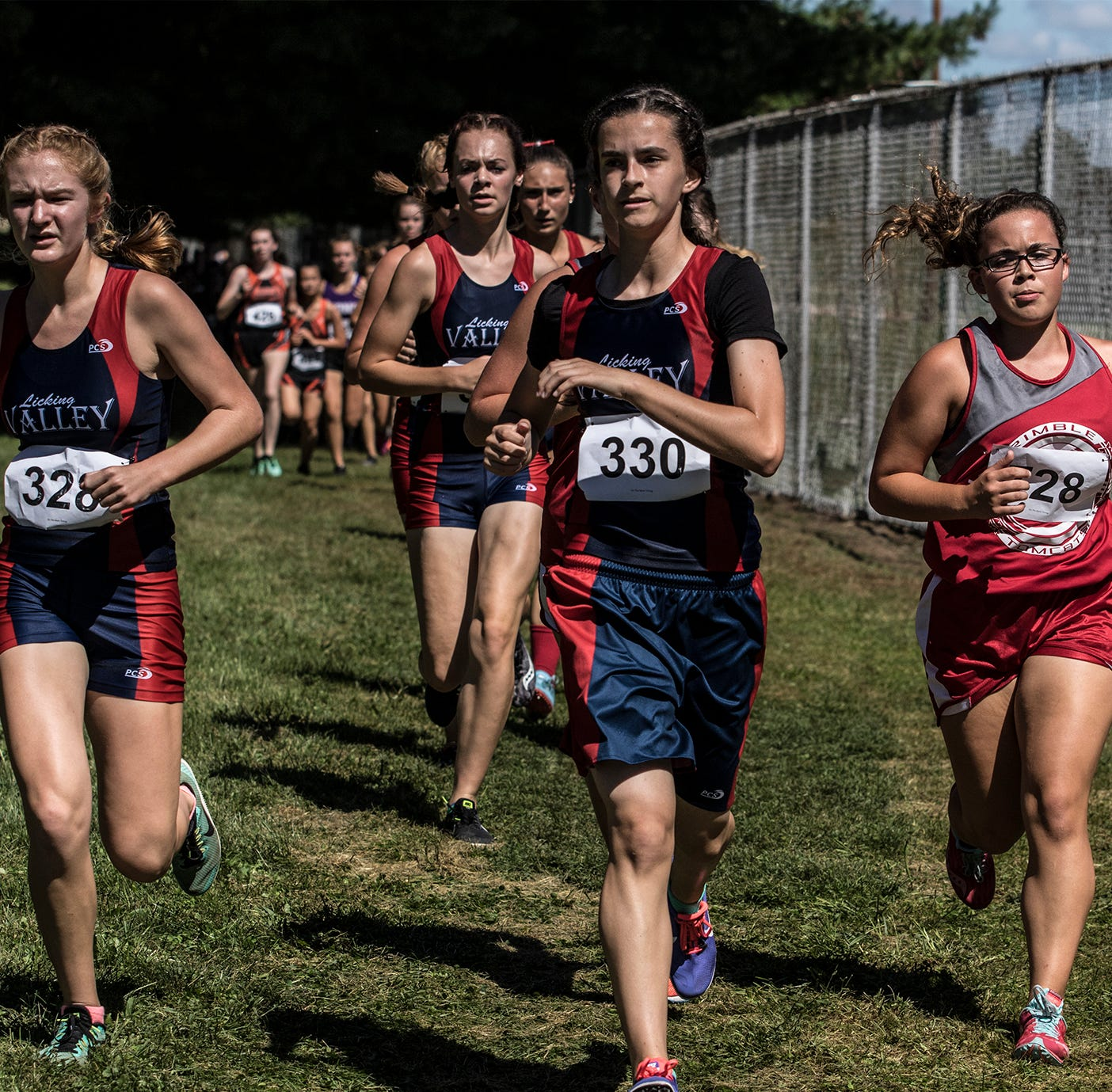 Licking Valley girls win title; Lakewood boys finish strong at Newark
