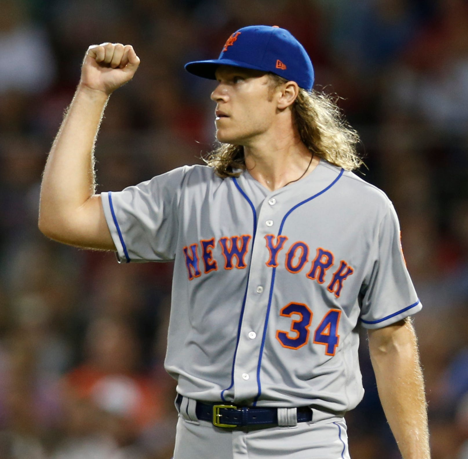 NY Mets were open to Noah Syndergaard trade during summer;  talks could heat up in winter