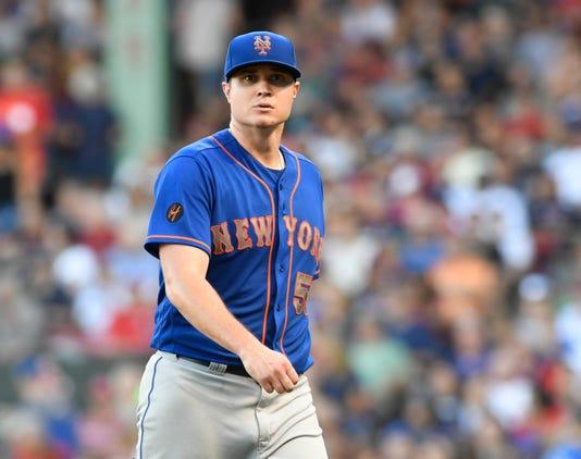 Mlb New York Mets At Boston Red Sox