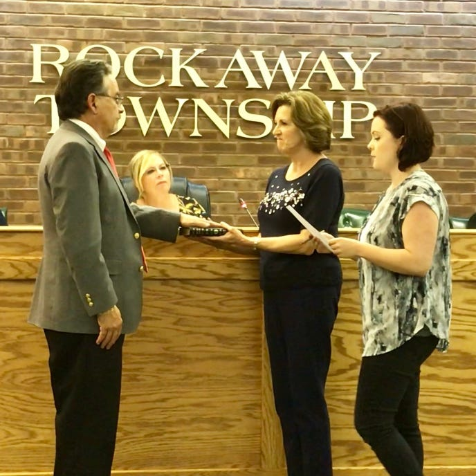 Will the real mayor of Rockaway Township please stand up?