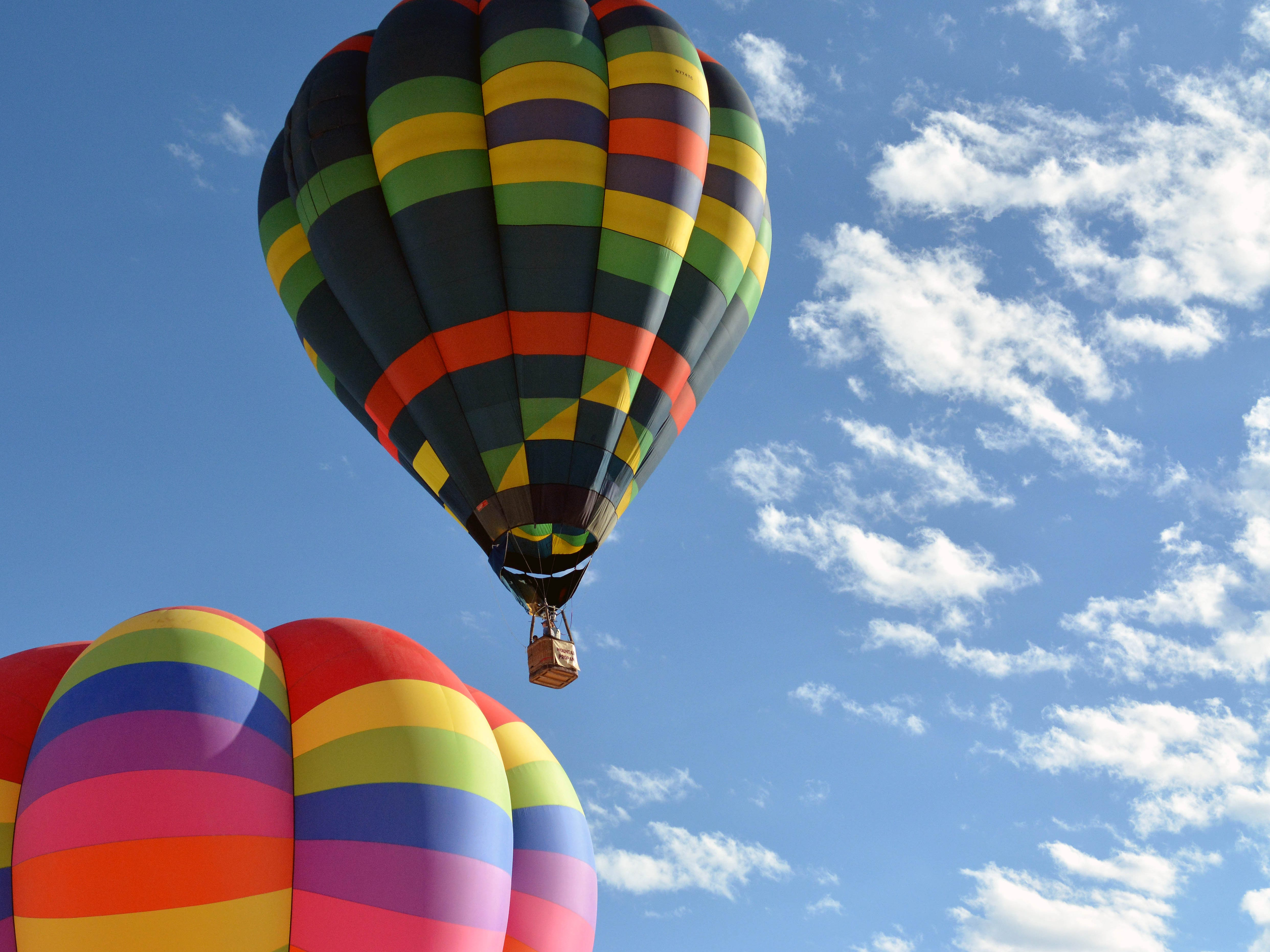 Hot air balloon launch Saturday, Sept. 15, 2018 at the White Sands Balloon Invitational.