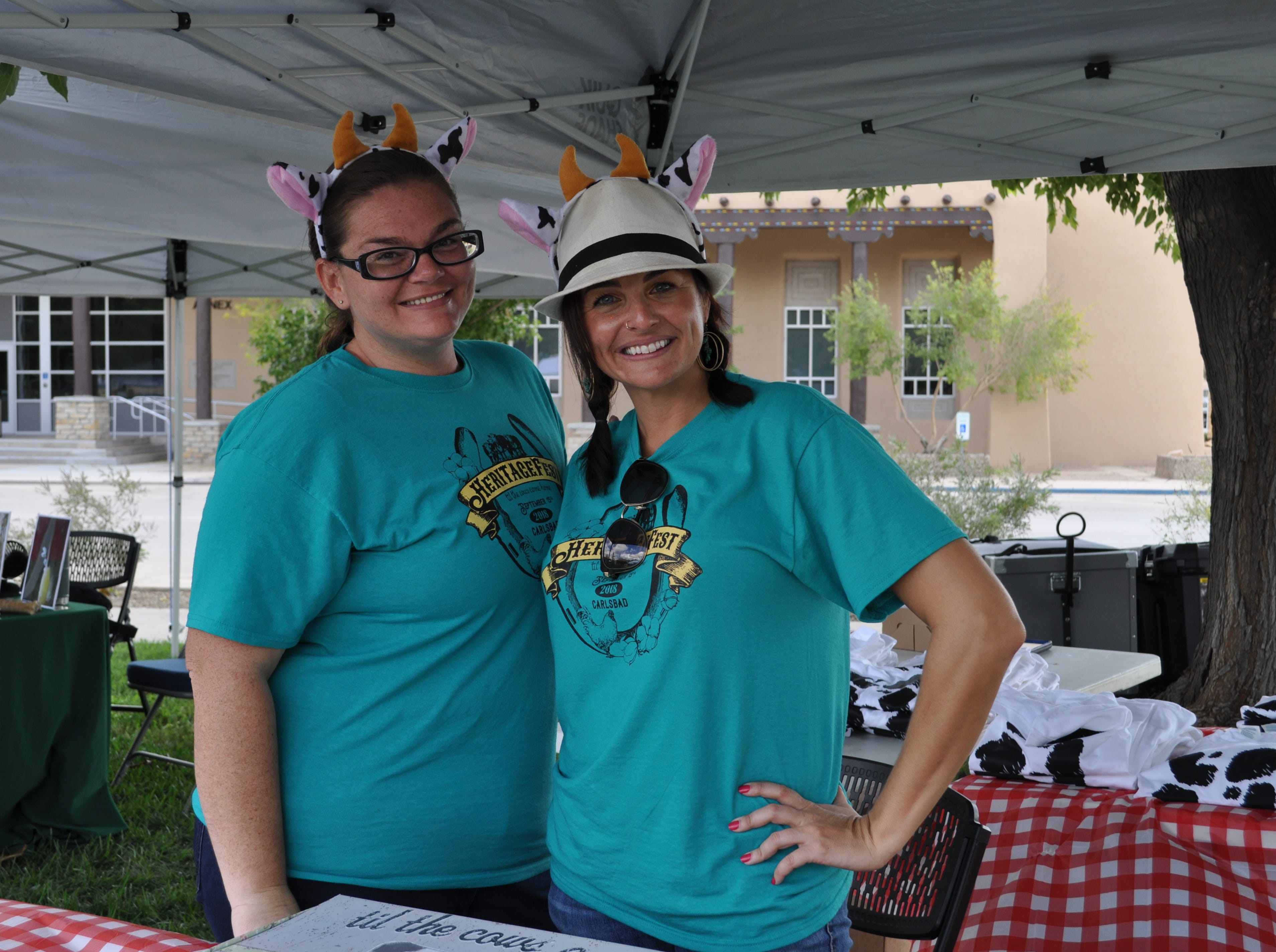Carlsbad's Creative Arts Council was represented Sep. 15 at the annual Heritage Fest.