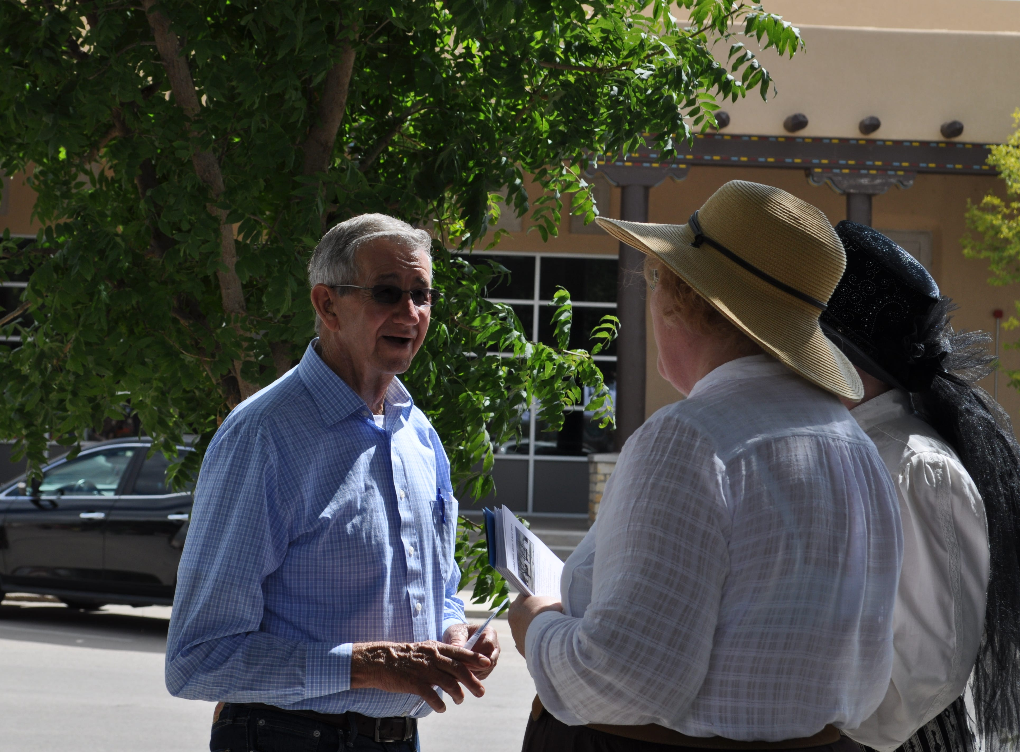 Carlsbad Mayor Dale Janway at the Sep. 15 Heritage Fest hosted at the Halagueno Arts Park.