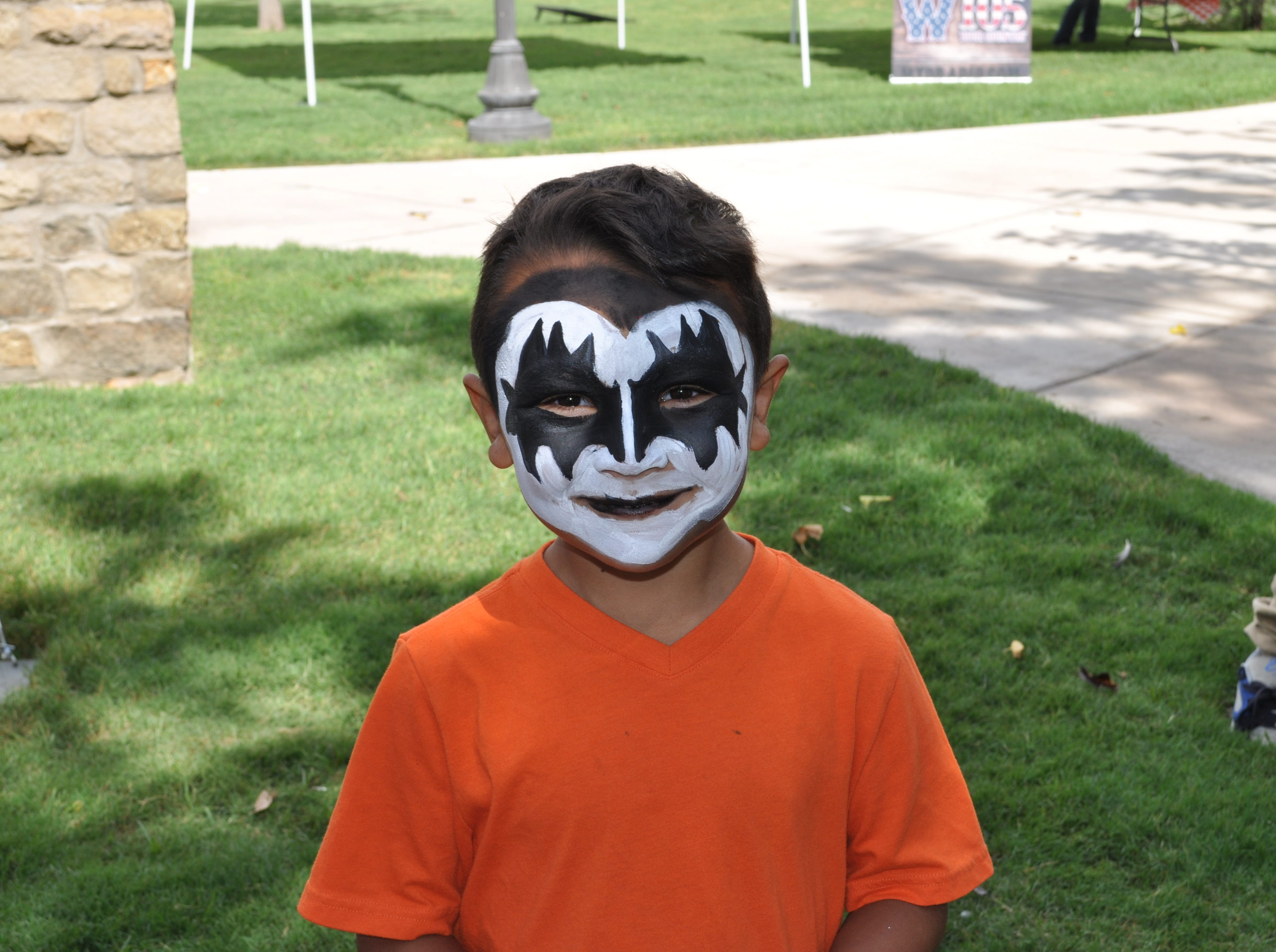 Face painting was among the activities available for children at Heritage Fest.