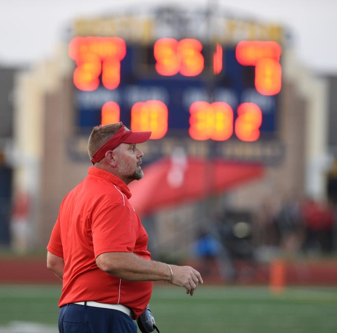 South Lyon coach Jeff Henson has his team already in the playoffs with a 6-0 start.