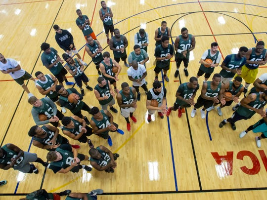 The Herd hosted tryouts on Sept. 15 at the Oshkosh YMCA.