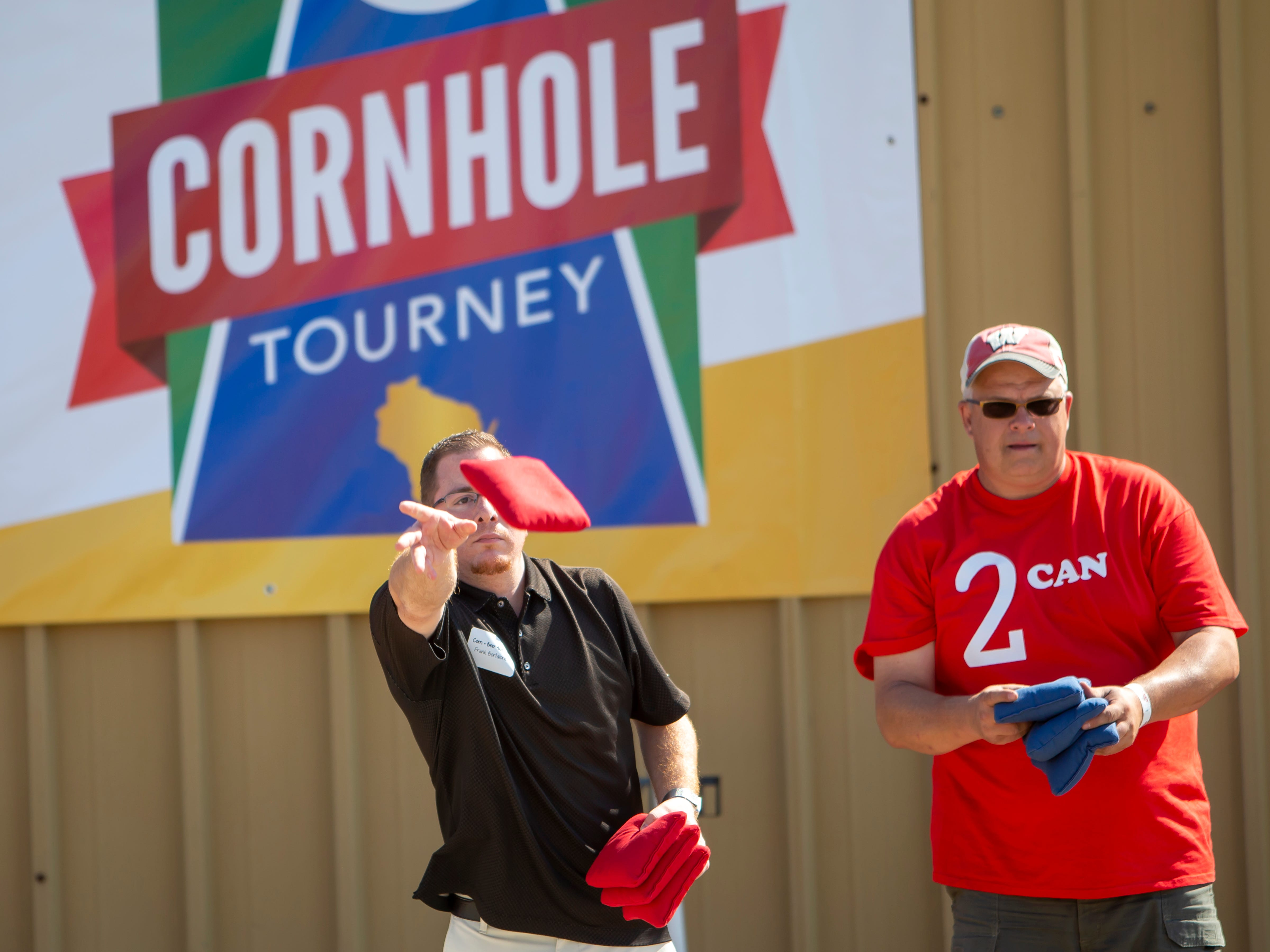 People on board with the growing sport of cornhole