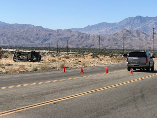 DUI fatality investigation continues on Date Palm Drive in Cathdreal City