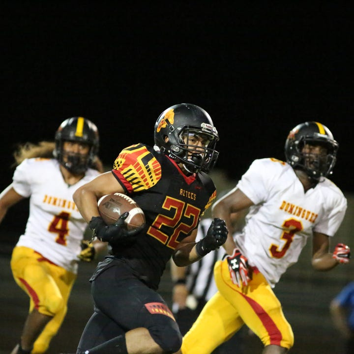 Perfect preseason has Aztecs looking toward league after 55-14 win over Dominguez