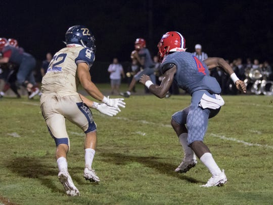 Pine Forest wide receiver Von Hill (4): 6-foot-2, 184, Class of 2020. Committed to Troy on July 2, 2019.