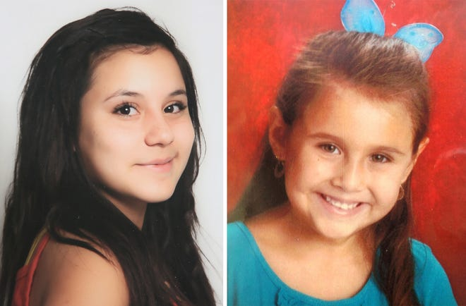 Maribel Gonzalez (left) disappeared in 2014, and Isabel Celis disappeared in 2012. On Sept. 15, 2018, Tucson police announced the indictment of Christopher Matthew Clements in the murders of the two girls.