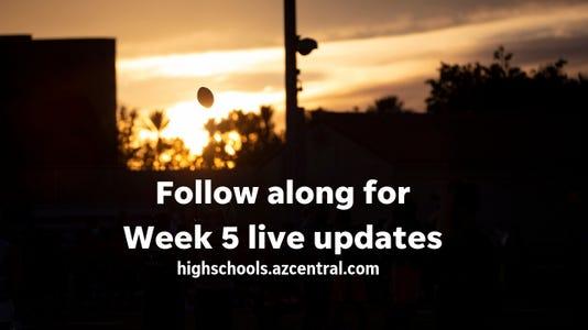 1 Week 5 Live Updates Graphic