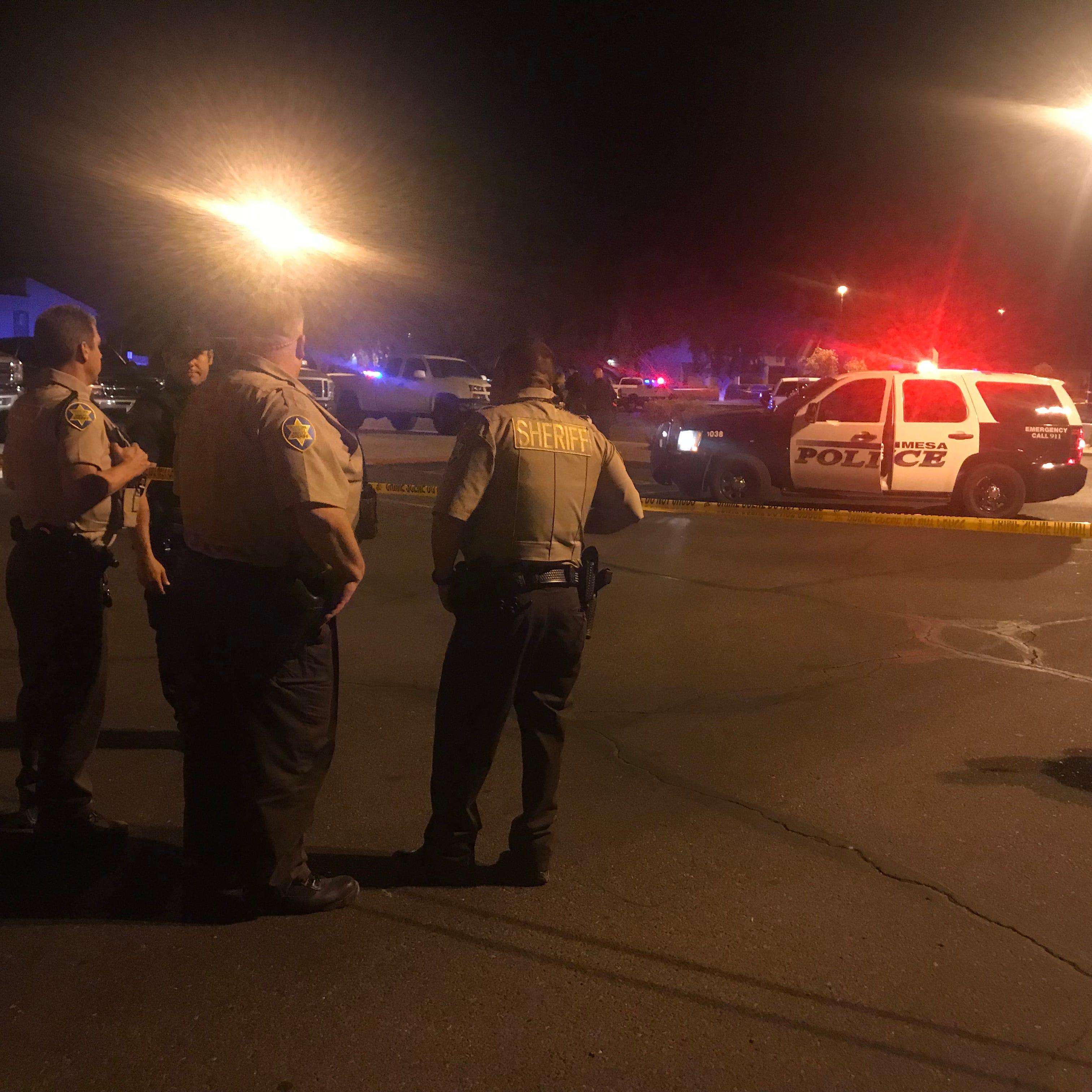 Mesa police: Officer shot man who fired gun at him