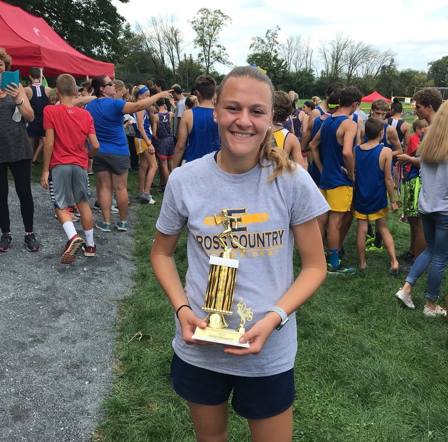 Elco's Brubaker, Palmyra's Fackler race to county cross country titles