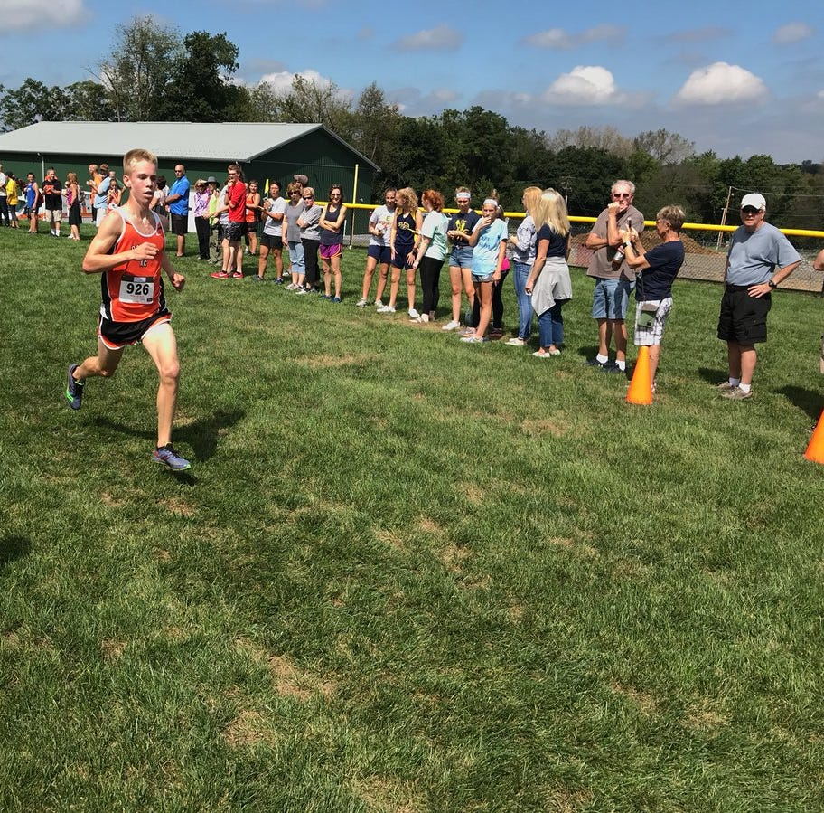 Palmyra's Fackler earns top 5 finish at Mid-Penn Conference meet