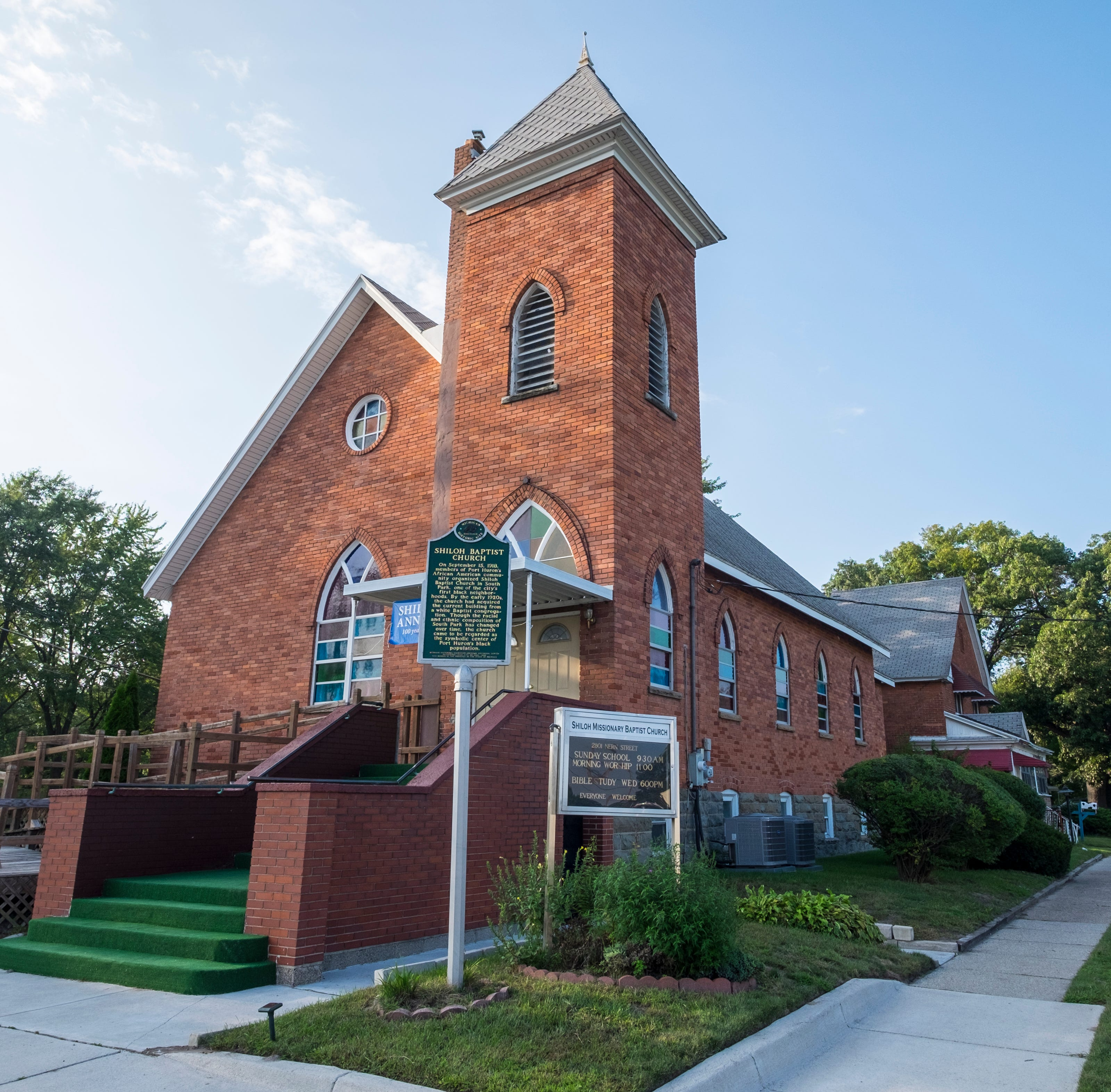 Shiloh Baptist Church celebrates 100 years as 'a beacon'