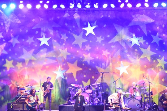 Ringo Starr and His All Starr Band perform Friday night at Saratoga Performing Arts Center.