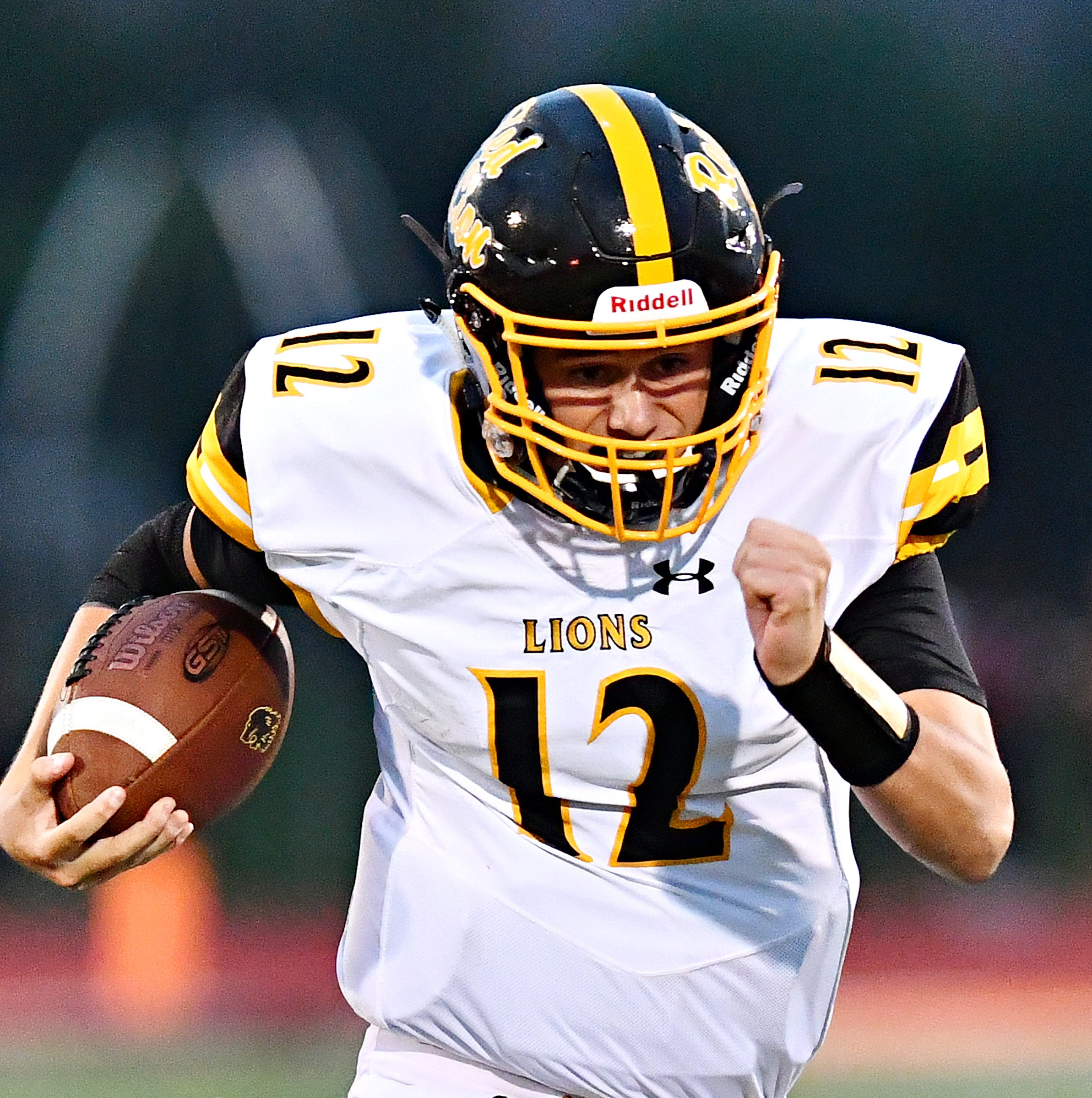 Red Lion quarterback Zach Mentzer uses his smarts to succeed in first year under center