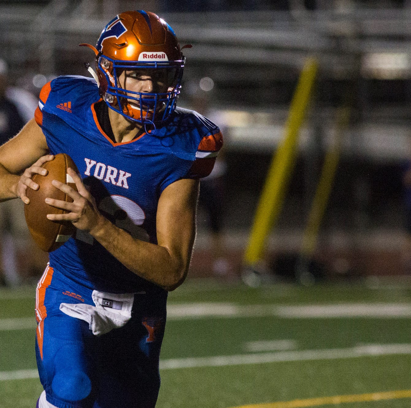 YAIAA football power rankings: Which big school is No. 1 at the midway point?
