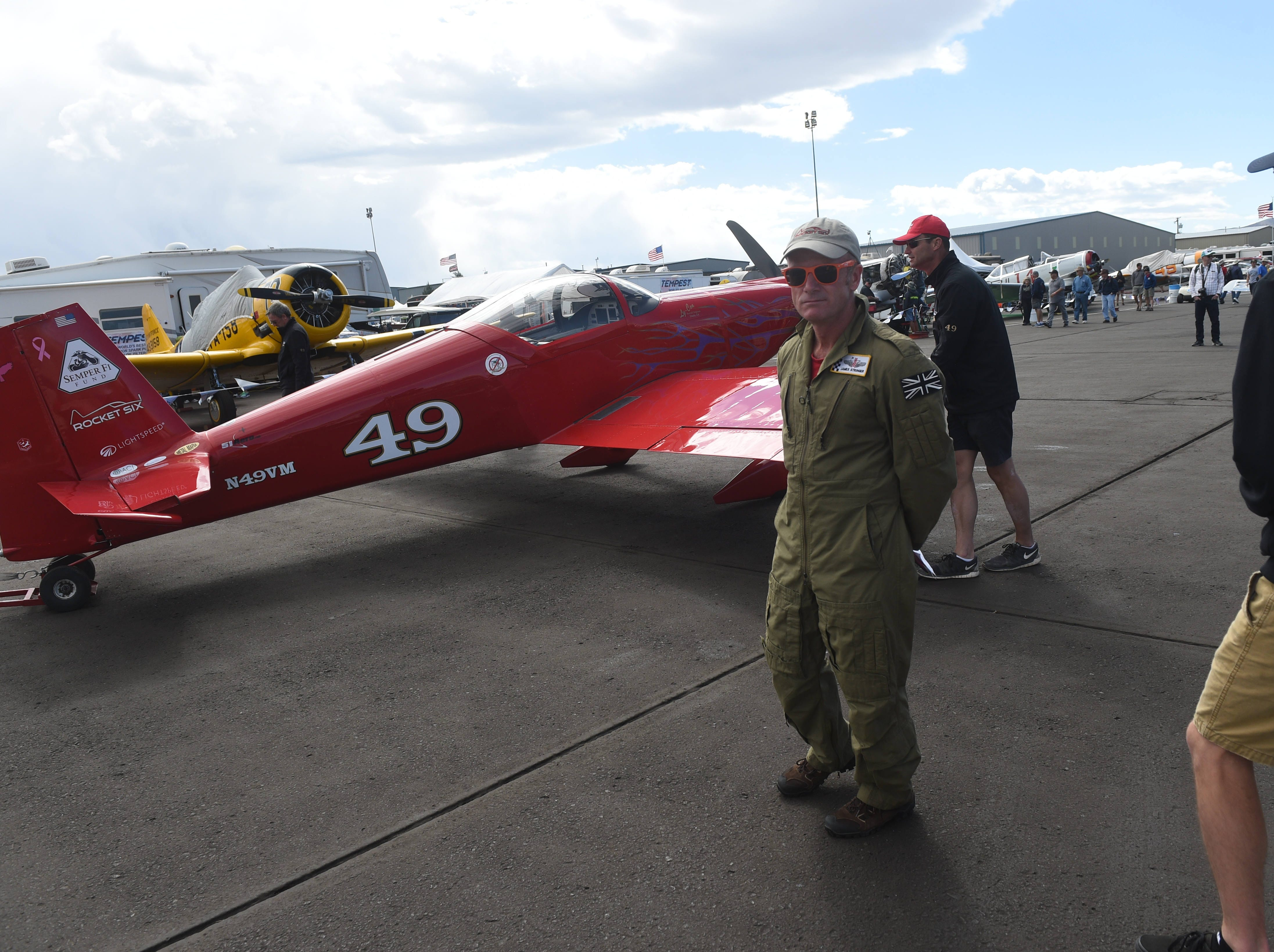The STIHL National Championship Air Races at Stead Airport north of Reno on Sept. 15, 2018.