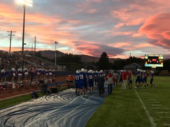 Reno beat Douglas, 51-24, Friday night at Reno.