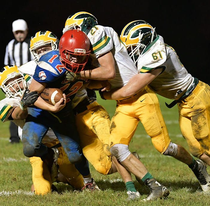 High School football roundup: Another shakeup tightens TEC race