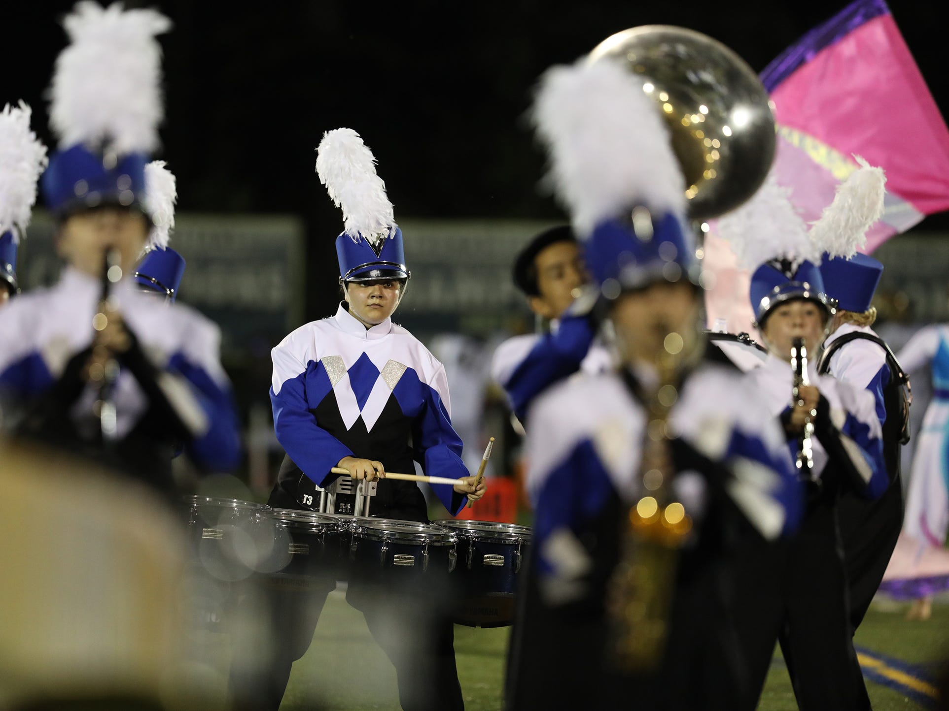 Webster Marching Band is made up of students from both Webster Thomas and Webster Schroeder.